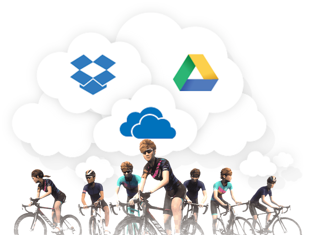 Sync your Zwift Data to the Cloud