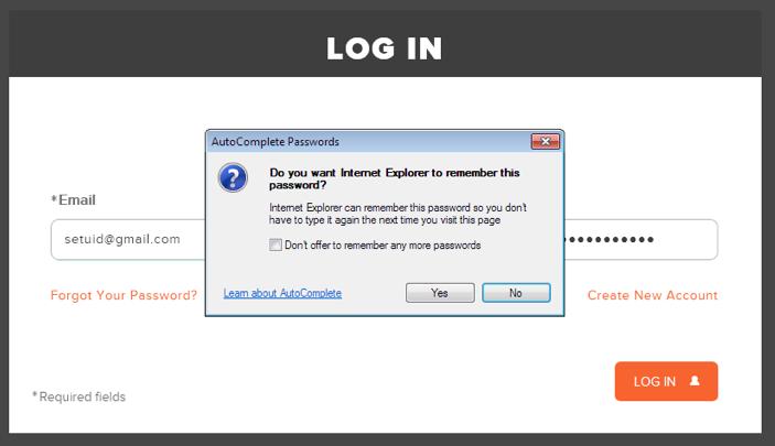 Saving your Zwift password